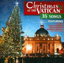 CHRISTMAS AT THE VATICAN CD BY VARIOUS ARTISTS BRAND NEW SEALED