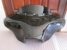 "BATWING FAIRING WINDSHIELD 4 Harley FLD Dyna Switchback 4×5"" SPEAKERS BAGGER LOW"