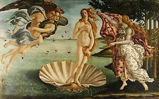 Birth of Venus 1486 Sandro Botticelli Fine Art Rolled Canvas Giclee 36x24 in.