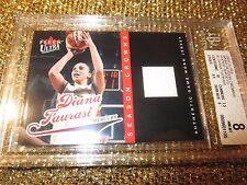 Diana Taurasi 2004 Phoenix Mercury WNBA Crowns Game Used Jersey Card BGS 8.5