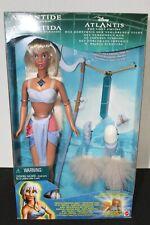 Disney Atlantis Crystal Princess Kida doll w/light up necklace  RARE