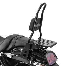 Sissy Bar CSL mit Gepäckträger für Harley-Davidson Dyna Fat Bob 10-17 schwarz
