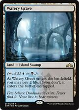 ***4x Watery Grave*** MTG Guilds of Ravnica GRN MINT Kid Icarus