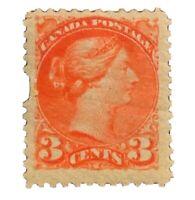 1870 Canada Stamp # 37 Mint OG H $140