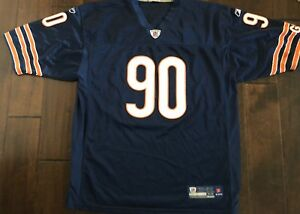 Reebok On Field Chicago Bears Julius Peppers Stitched Football Jersey Men's 52