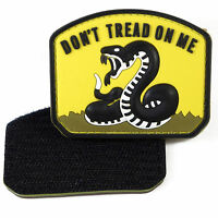 """OD Green Hebrew /"""" Don/'t Tread On Me /"""" Morale Patch"""