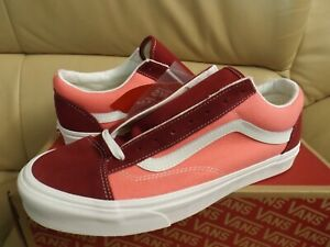 Vans Style 36 (Vintage Sport) Men's Size 11 Skate Shoes Rumba Red VN0A3DZ3VTC