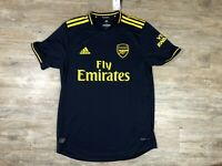 NWT Adidas Arsenal Fly Emirates Navy Authentic Home Jersey Size Medium FJ9323