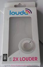 AMPLIFICATORE audio-trasparente Cellulare Custodia Per iPhone 6-migliora la chiarezza