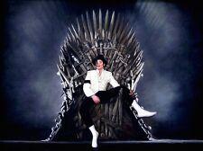 "SUPERB RARE ORIGINAL ZEN O'CONOR ""Michael Jackson"" IRON THRONE SERIES PAINTING"