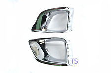 Cover Spot Light Fog Lamps Chrome Trim Intake Toyota Van Hiace Commuter 11 12 13