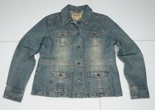 Aeropostale Womens  L Blue Cotton Denim Jean Jacket NWOTs