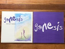Genesis We Can't Dance RARE Original promo 12 x 12 poster flat '91