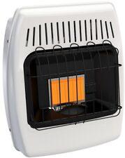 Wall Heater 6000 BTU Liquid Propane Infrared Vent Free Automatic Shutoff White