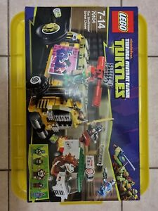 Lego TMNT 79104 SHELLRAISER STREET CHASE teenage mutant Ninja turtles Minifigs