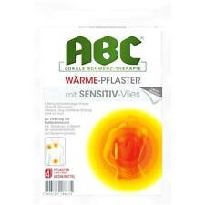 HANSAPLAST med ABC Waerme Pflaster sensitiv   4 st    PZN 1033409