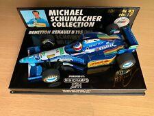 F1 1/43 Minichamps Benetton Renault B195 Schumacher GP France T2M #17