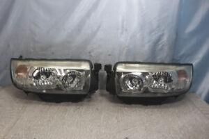 JDM 2006 Subaru Forester SG5 SG9 STI Halogen Headlights Lights Lamps Set OEM