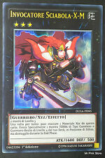 INVOCATORE SCIABOLA-X-M DUSA-IT095 Xyz Ultra Rara in Italiano YUGIOH