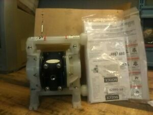 """NEW ARO 3/8"""" DIAPHRAGM PUMP, PD03P-APS-PAA, NEW IN OPEN BOX WITH MANUAL"""