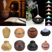 LED Ultrasonic Aroma Diffuser Air Aromatherapy Purifier Essential Oil Moisture