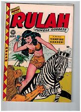RULAH # 18 NM- 1948 Golden Age Comic Book Fox Features Syndicate Jungle JJ1