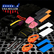 Fancy Vehicle Wrap Vinyl Tools Kit Scratchfree Squeegee Razor Gloves Magnets 09