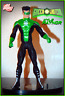 "DC DIRECT KYLE RAYNOR GREEN LANTERN 6"" ACTION FIGURE JLA SERIES LOOSE + FREE S&H"