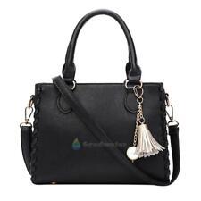 Leather Satchel Shoulder Tote Purse Messenger Crossbody Bag Ladies Handbag Women