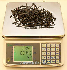 6.6 x 0.0002 LB DIGITAL COUNTING PARTS COIN SCALE 3 KG x 0.1 GRAM INVENTORY