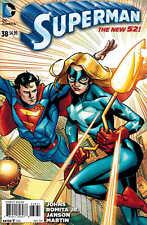 Superman #38 DC Comics NEW 52 1:50 Lee Moder Variant NEW Star Girl Stock Photo