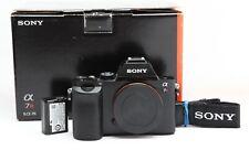 Near Mint Sony Alpha a7R Mirrorless Digital Camera (Body Only) with Box #33368