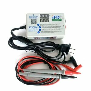 RT300M Upgraded version V2.0 90W 0-300V Smart LED  tester with Tester Pens