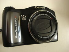 Very Nice Canon Powershot SX100 8MP Digital Camera 10x Optical Zoom