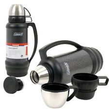 Coleman Stainless Steel Vacuum Beverage Bottle Thermos Hot Cold 1.9 QT 1.8 LT NW