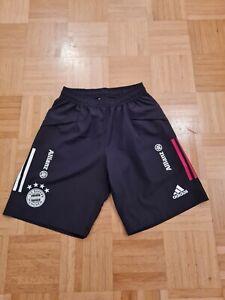 FC Bayern München matchworn Präsentationsshort Trainingsshort FCB Adidas Hose