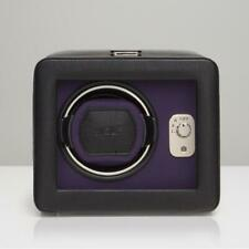 Wolf Windsor Single Watch Winder With Cover - Module 2.5 Purple 4525003