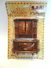 Doll House Furniture {New In Package} Large Dining Room Hutch/Cabinet