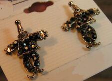 Onyx Silver Plated Fashion Earrings