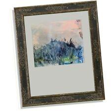 Rétro Abstrait Aquarelle Vierge Turbulence non encadré signé martin