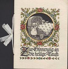Taufbuch 1938, Zur Erinnerung an die heilige Taufe
