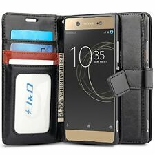 Xperia XA1 Ultra Case JD [Wallet Stand] [Slim Fit] Heavy Duty Protective Shock