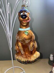 "WB Studio Store Radko Scooby Doo Blown Glass Limited Edition Ornament 7"""