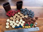 Replacement+Parts+Pieces+Board+Game+Lot+Backgammon+Chess+Wooden+Tokens+Movers