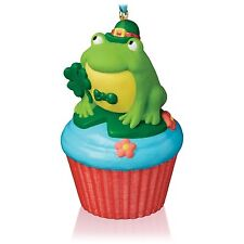 Lucky Leap-Rechaun 2016 Hallmark Ornament #8 Keepsake Cupcakes Frog St Patrick's