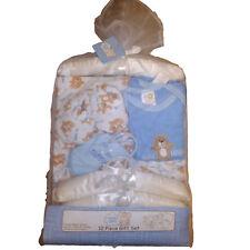 "Snugly Baby 12 Piece Layette Gift Set, ""Bear Hugs"" Blue Boys Newborn"