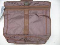 Vintage 1980's Airway Beach & Racquet Club GARMENT BAG Carrier Luggage Brown