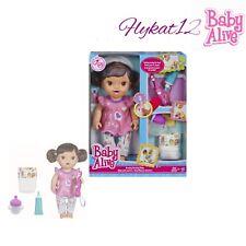Baby Alive Brushy Brushy Interactive Baby Doll (Brunette)