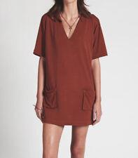 One Teaspoon Womens 20404 Buffalo Dress Slouchy Brown Size S