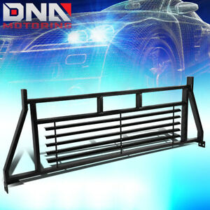 FOR RAM/TUNDRA/SIERRA HEADACHE RACK TRUCK REAR CAB WINDOW SAFETY PROTECTOR GUARD